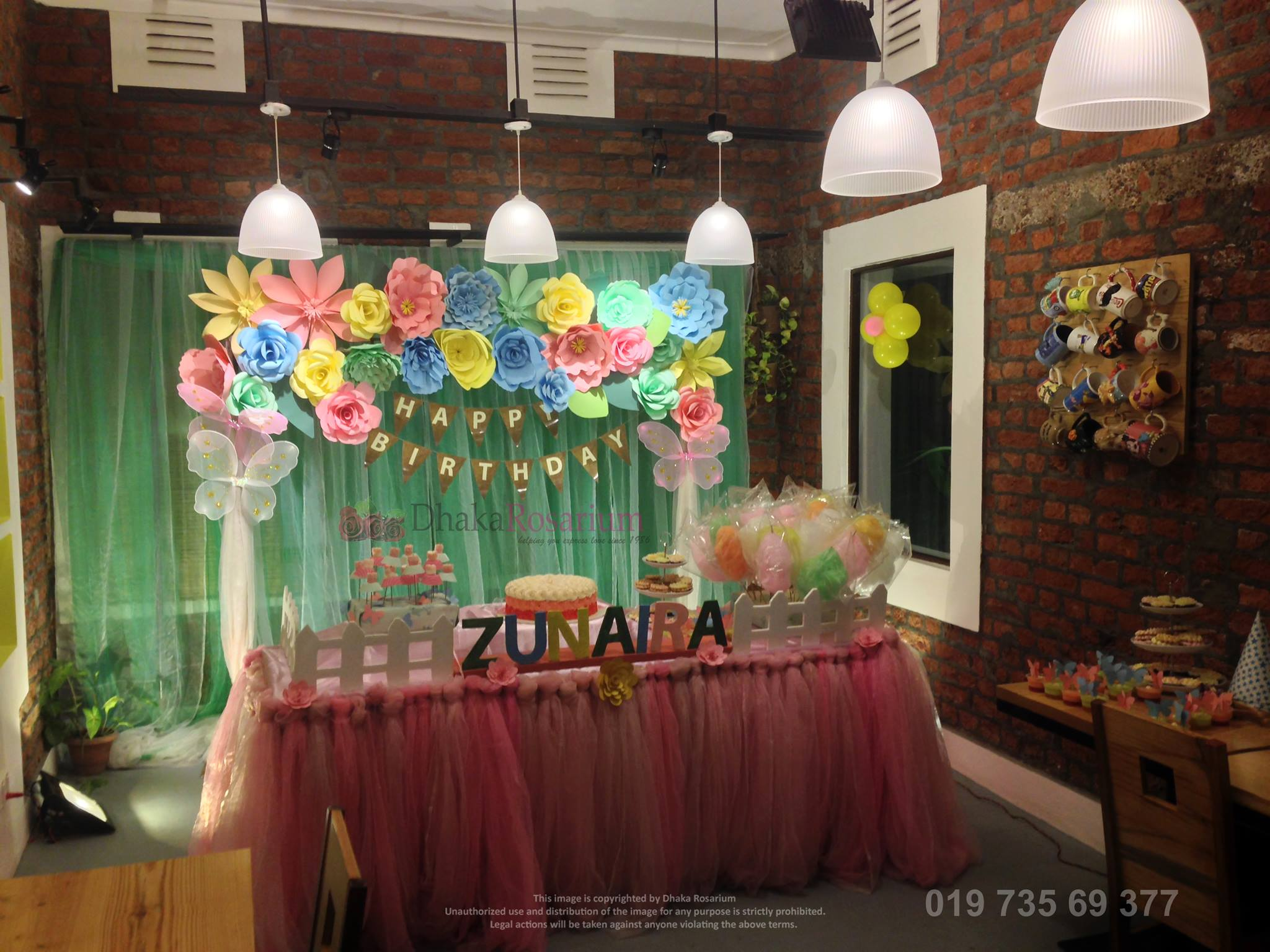 Birthday Pinewood Restaurant Dhanmondi Dhaka Rosarium